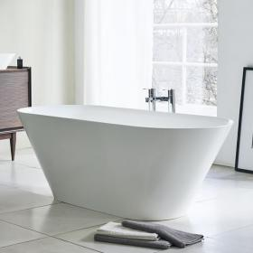 Clearwater Sontuoso 1690mm Clear Stone Freestanding Bath