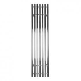 SBH Tubes Vertical 1600  x 380mm Electric Stainless Steel Radiator