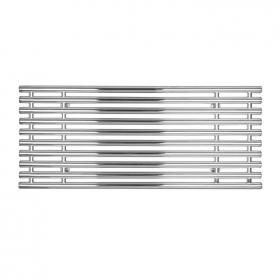 SBH Tubes Horizontal 560 x 1300mm Electric Stainless Steel Radiator