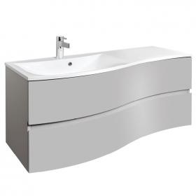Photo of Bauhaus Svelte Storm Grey Matt 120 Vanity Unit and Basin