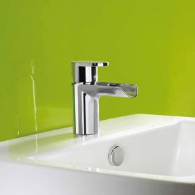 Roper Rhodes Stream Open Spout Basin Mixer with Waste