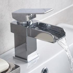 Hudson Reed Strike Open Spout Mono Basin Mixer