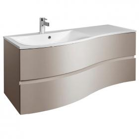 Bauhaus Svelte Matt Coffee 120 Vanity Unit and Basin
