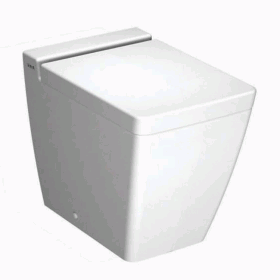 Vitra Designer T4 Back To Wall WC & Standard Seat