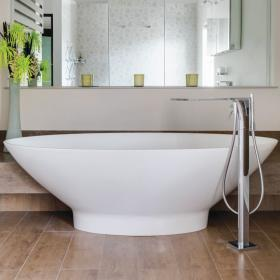 BC Designs Thinn Tasse 1770mm Freestanding Bath