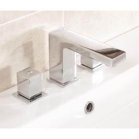 Saneux Tooga Deck Mounted 3 Hole Basin Mixer
