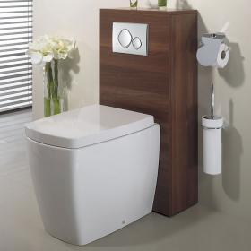 Bauhaus Touch Back To Wall WC & Seat