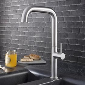 Crosswater Cucina Tube Tall Side Lever Kitchen Mixer