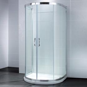 April Identiti U Shaped Quadrant Shower Door