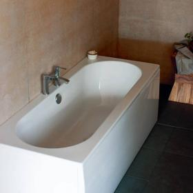 Britton Cleargreen Verde 1600 x 750 Double Ended Bath