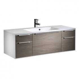 Roper Rhodes Vista 1200 Dark Elm Wall Mounted Unit & Basin