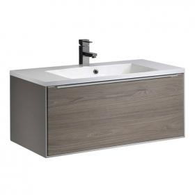 Roper Rhodes Vista 900mm Taupe Wall Hung Unit & Basin