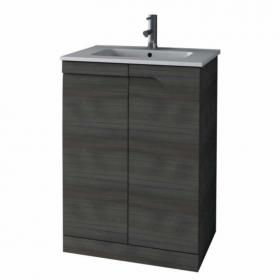 Frontline Vitale Fossil Grey 600mm Floorstanding Unit & Basin