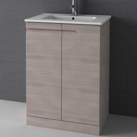 Frontline Vitale Natural Stone 600mm Floorstanding Unit & Basin