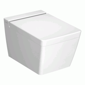 Vitra  Designer T4 Wall Hung Rimless WC & Seat