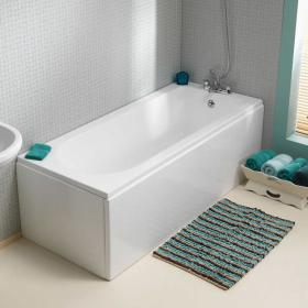 Pura Wave 1700 x 750mm Single Ended Bath