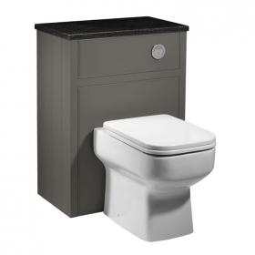 Roper Rhodes Hampton 600mm Pewter Back To Wall WC Unit