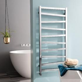 Bauhaus Wedge 500 Chrome Finish Towel Rail