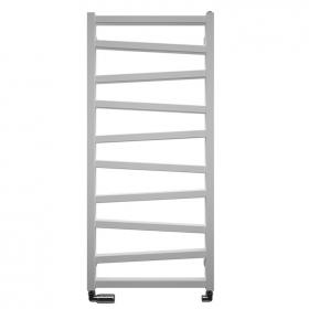 Bauhaus Wedge 500 Soft White Matte Towel Rail