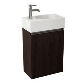 Pura Echo Wall Mounted Vanity Unit & Basin - Wenge
