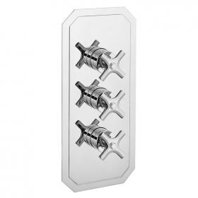 Photo of Crosswater Waldorf Chrome Crosshead 2000 Shower Valve with Two Way Diverter
