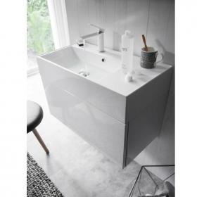 Bauhaus Elite 70 White Gloss Vanity Unit and Basin