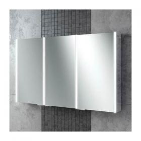 HIB Xenon 120 LED Aluminium Bathroom Cabinet