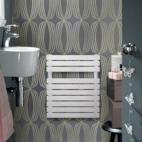Photo of Zehnder Ax Spa White Designer Cloakroom Radiator