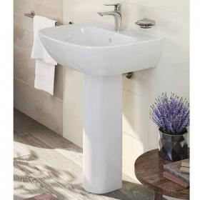 Vitra Zentrum 600mm Basin & Full Pedestal