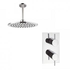 Crosswater Kai Lever Shower Valve & Ceiling Head
