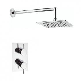 Photo of Crosswater Kai Lever Shower Valve & Square Shower Head