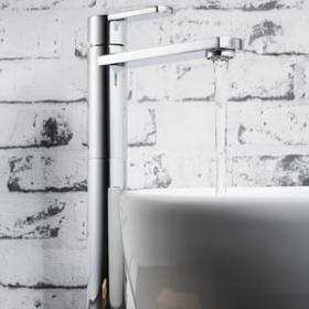 Tall Basin Mixer Taps | Designer Bathroom Taps
