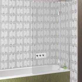 Simpson Ten Hinged Bath Screen