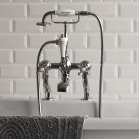 Traditional Bath Shower Mixer Taps
