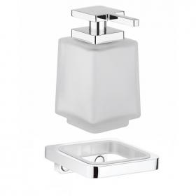 Photo of Crosswater Wisp Soap Dispenser and Single Wall Holder