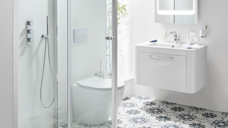 Celeste White Bathroom